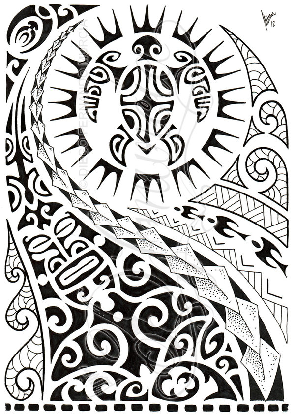 polynesian tattoo designs 4