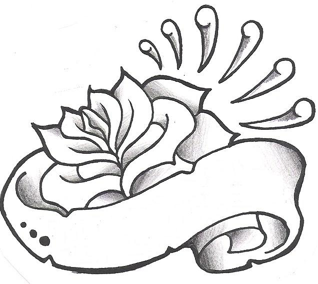 rose tattoo designs 5