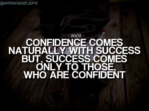 self confidence quotes 1