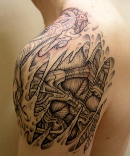 shoulder tattoo designs 6