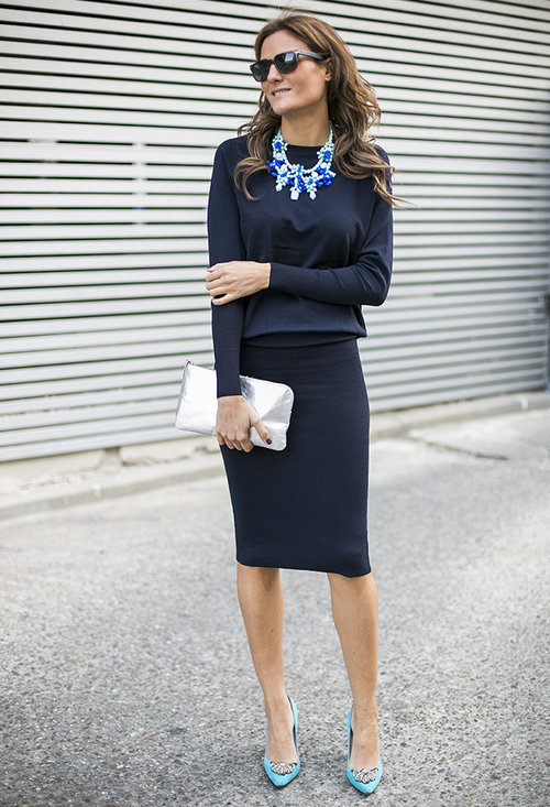 Stylish model, fashion, outfits, pencil skirt, lady, image
