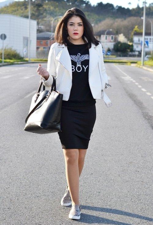Stylish model, fashion, outfits, pencil skirt, lady, pics