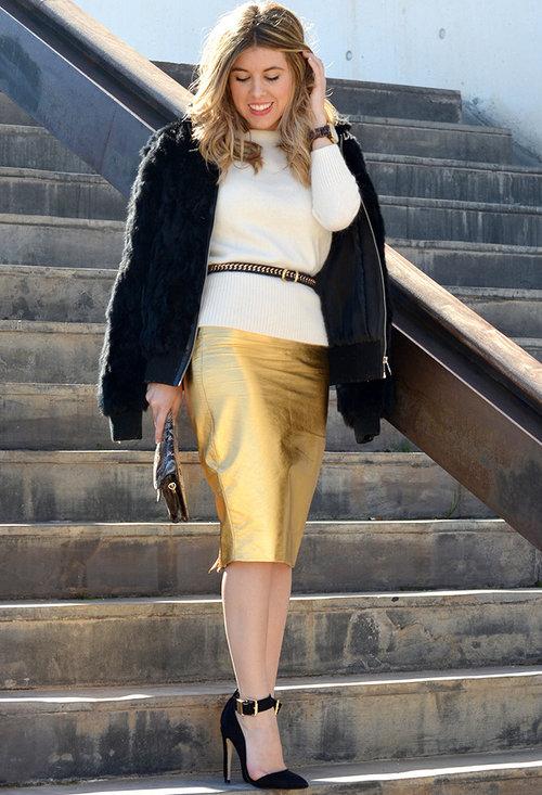 Stylish model, fashion, outfits, pencil skirt, woman, image