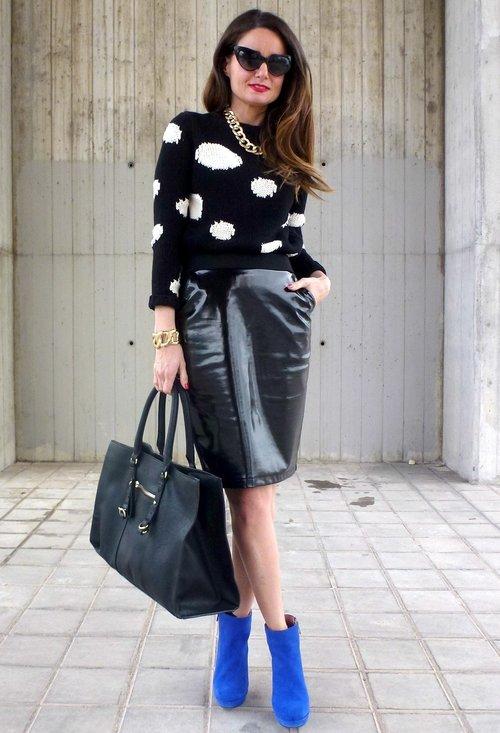 Stylish model, fashion, outfits, pencil skirt, woman, photo