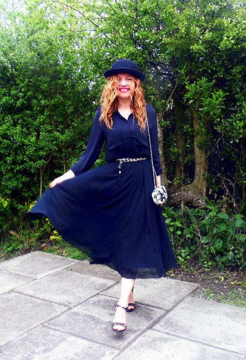 Stylish trendy hat, beautiful model, lady, photoshoot