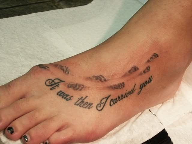 tattoo on foot 6