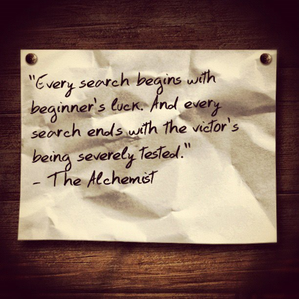 the alchemist quotes