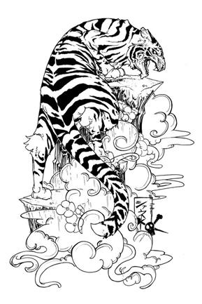 tiger tattoo designs 1