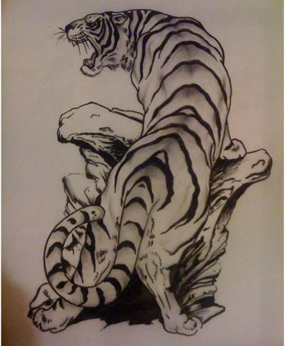 tiger tattoo designs 4