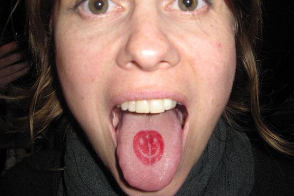 tongue tattoo 6