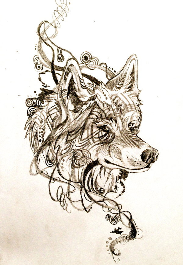 wolf tattoo designs 3