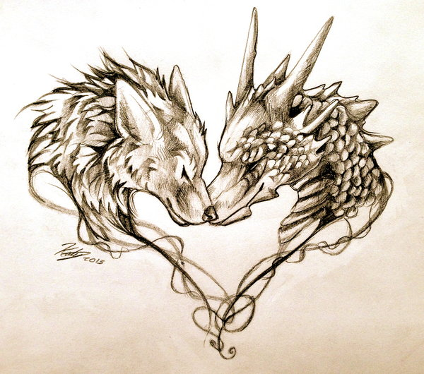 wolf tattoo designs 5