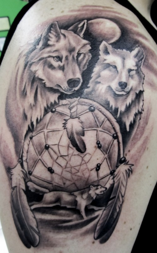 wolf tattoo designs 6