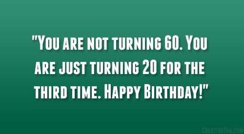 60th Birthday Quotes Fav Images Amazing Pictures