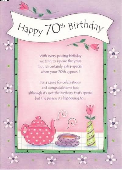 70th birthday quotes 2