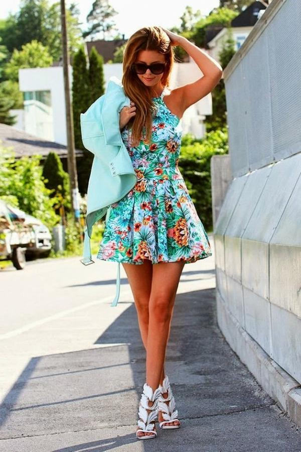 Beautiful summer dress for ladies