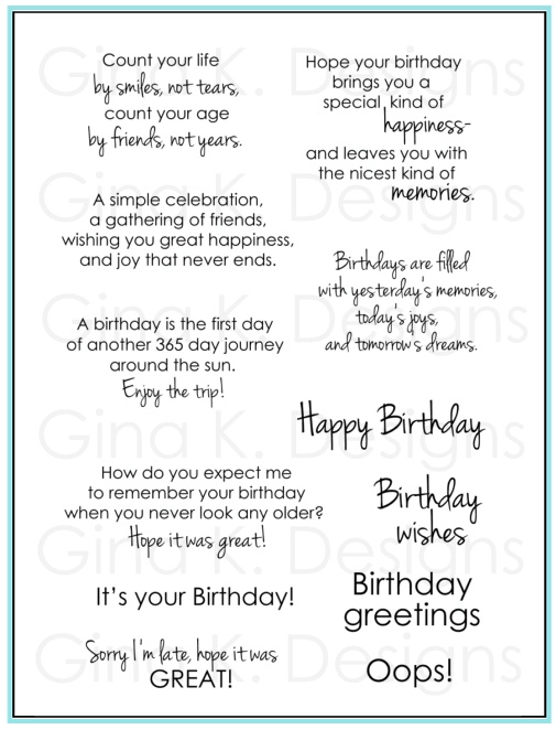 birthday sayings 2