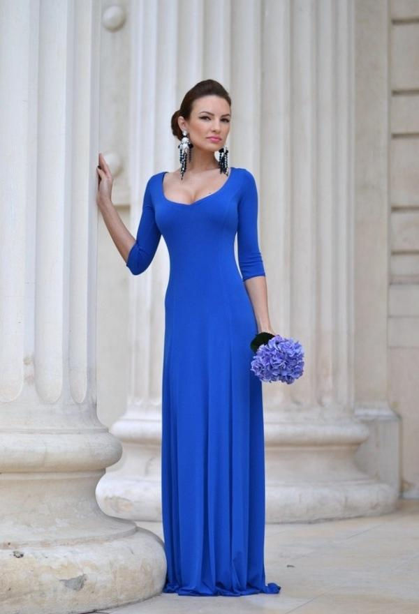 Blue dress for girls
