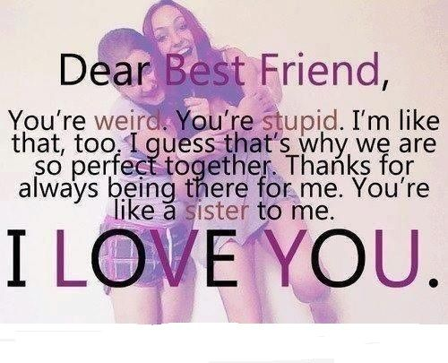 Best Friend Sayings