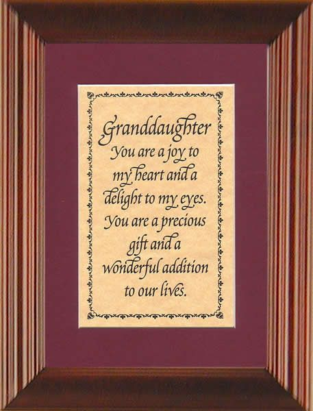 granddaughter quotes 5