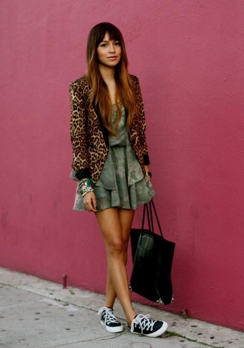 Green summer dress for girls