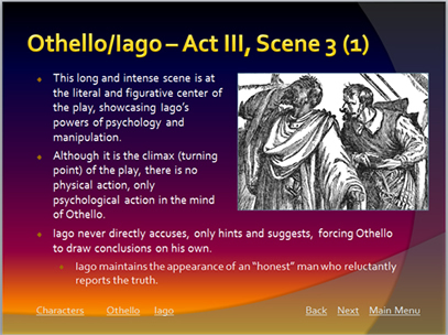 a literary analysis of iago by william shakespeare