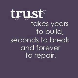 sayings about trust 1