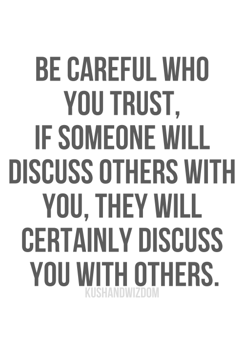 sayings about trust 3