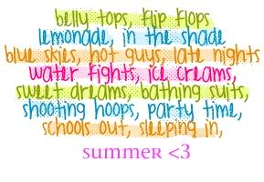summer sayings 1