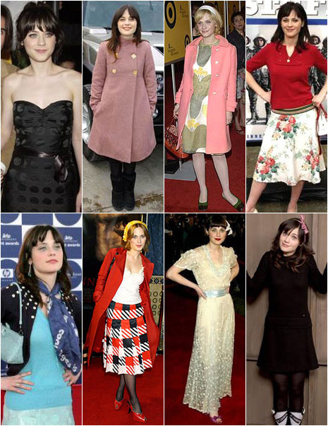 zooey deschanel fashion 1