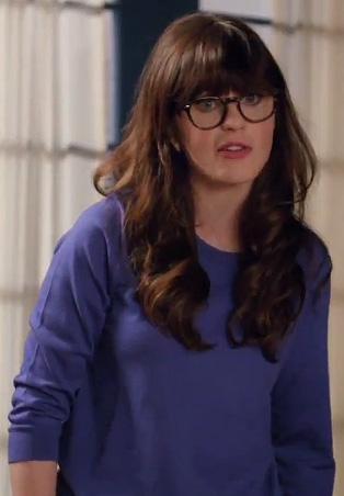 Zooey deschanel glasses