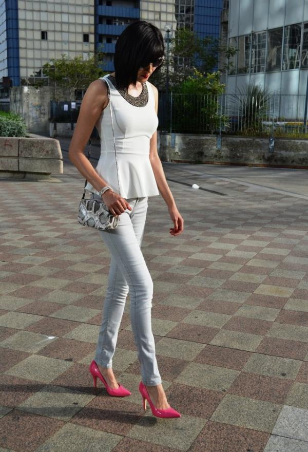 Amazing white shirt for girl