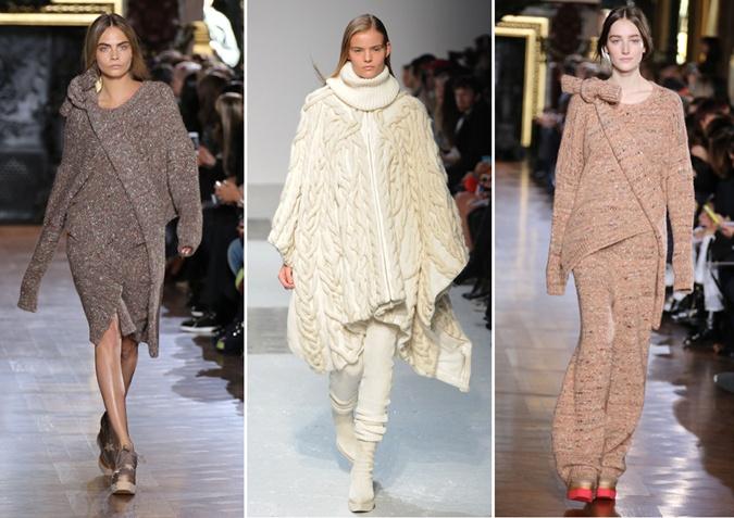 Knitwear from soft wool