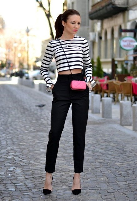 Amazing pink bag for cute woman