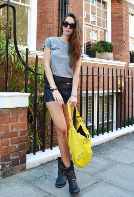 Beautiful yellow bag for woman