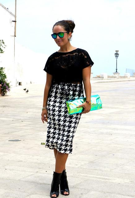 Green bag for girls