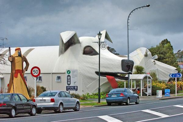 Houses which look like animals, dog