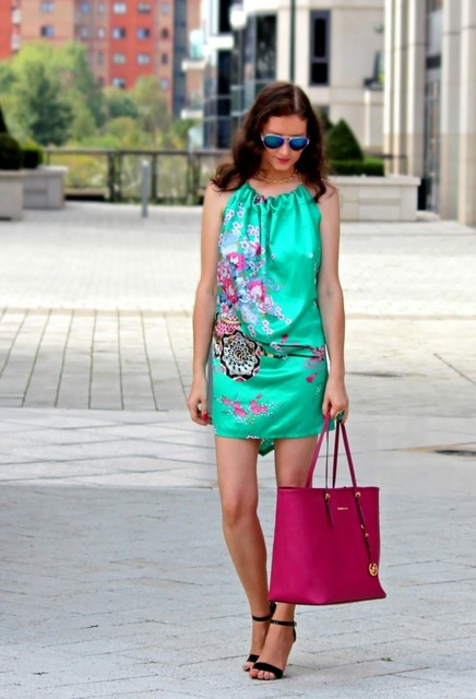 Purple bag for girl