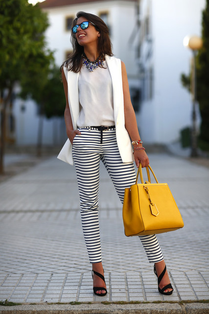Stylish yellow bag for girls