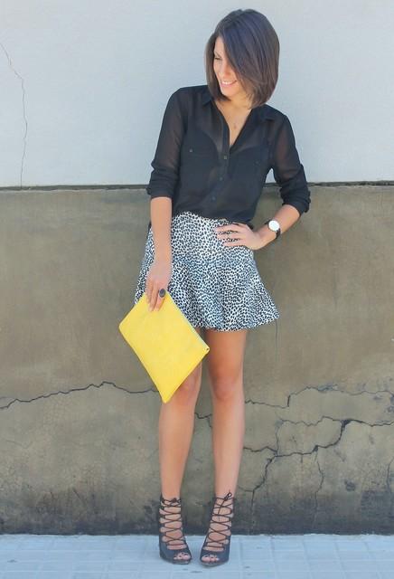 Yellow bag for girls