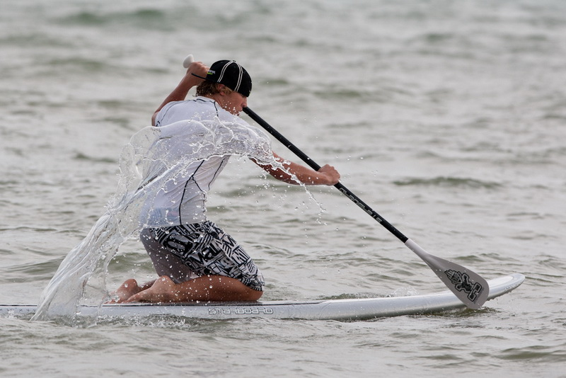 Surfing in Pattaya man