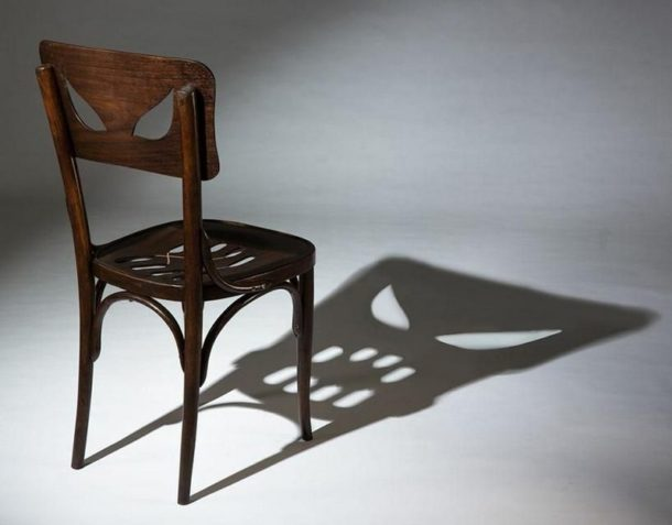 Chair and its shadow
