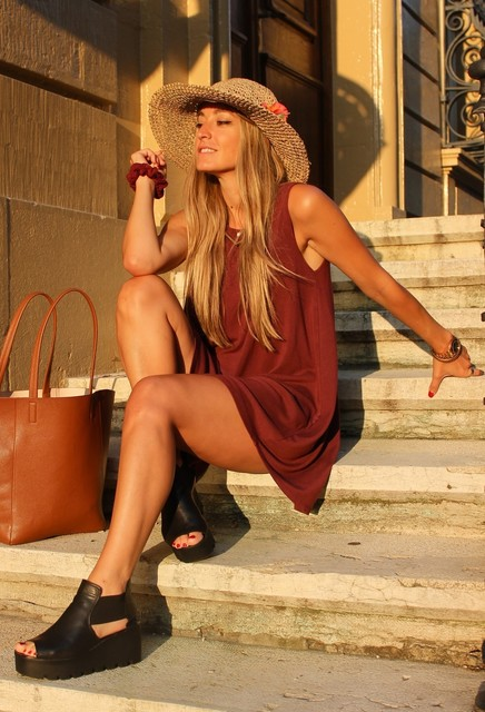 Elegant brown dresses 3