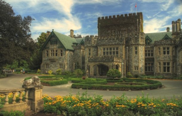 Hatley Castle and its gardens pics