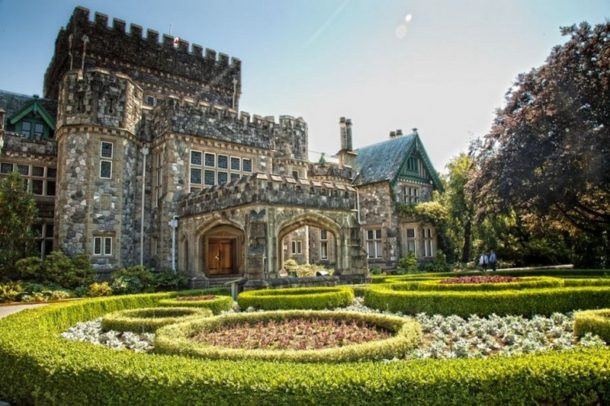 Hatley Castle and its gardens pics image