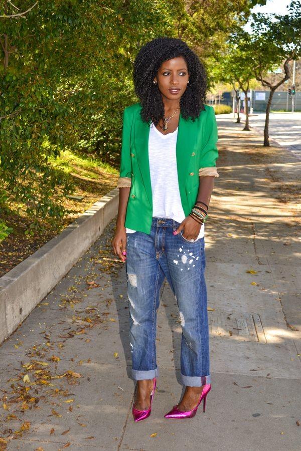 Stylish green female jackets 2