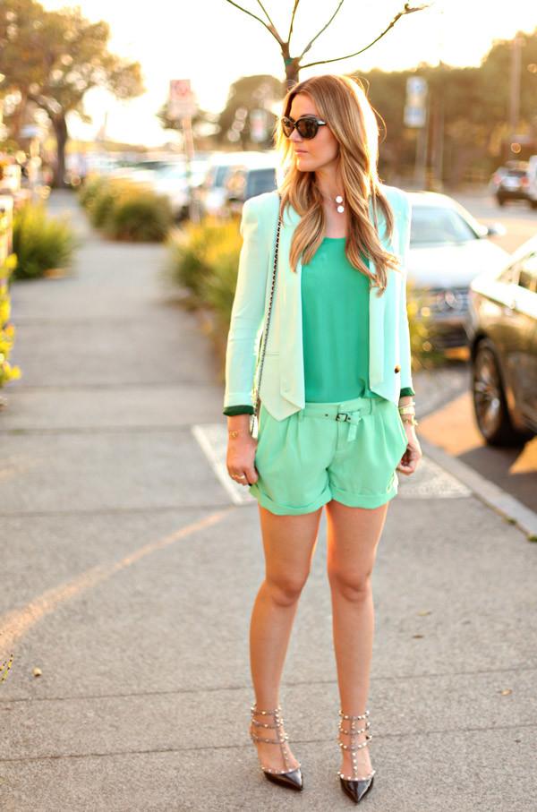Stylish green female jackets 3