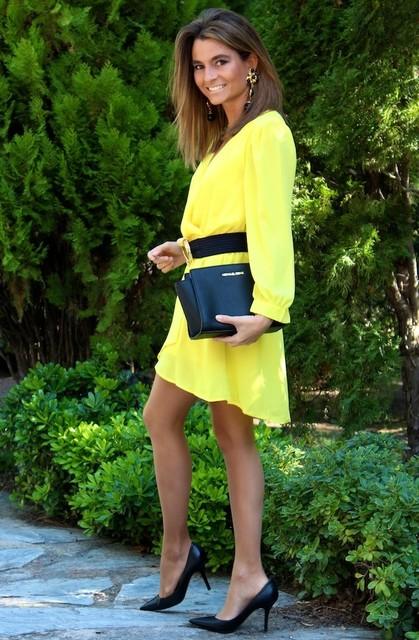 Trendy yellow dresses 2
