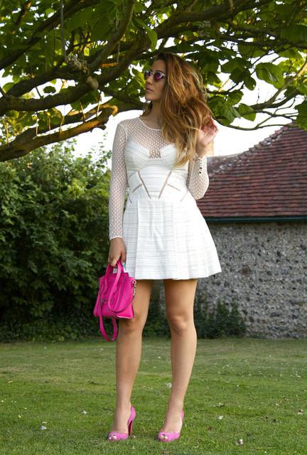 White dress outfit ideas 1
