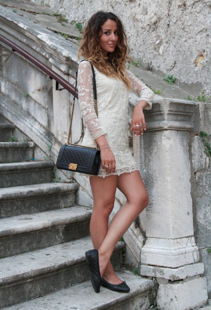 White dress outfit ideas 2